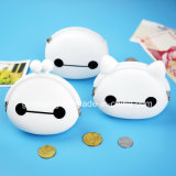 새로운 Fashion Cute Carton Silicone Coin Purse 또는 Zipper Purse
