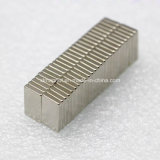 Magneet van de Rechthoek van het Gebruik van de Producten van L14X8X2mm N42 de Elektrische Duurzame Permanente