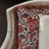 Design nórdico 23 sofá de tecido com haste para Sala Escura