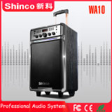 Shinco 10 '' neue Art moderner Bluetooth Laufkatze-Lautsprecher mit LED-Licht