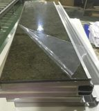 New Modern Acrylic Kitchen Cabinet Shutters com PVC Edge Banding & Handles (personalizado)