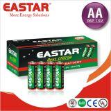 1,5 углерода сухая батарея AA R6p