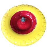 16 بوصة 4.00-8 [بو] زبد صلبة [وهيل برّوو] إطار العجلة