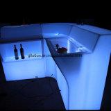 Современный открытый Lumilux акриловый LED мебель бар счетчик