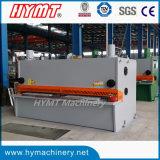 Machine de découpage de tonte de massicot hydraulique de contrôle de la commande numérique par ordinateur QC11K-10X3200