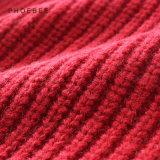 Phoebee 100%のウールの子供の服装の女の子の冬によって編まれるカーディガン