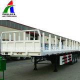 3 Flachbett-Typ Bauholz-Transport-Protokoll-Schlussteil der Wellen-40FT