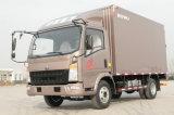 Sinotruk HOWO 4*2 camión de caja de camión camión con una alta calidad