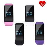 Braccialetto di vigilanza astuto di frequenza cardiaca di salute di Bluetooth