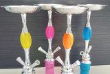 De e-Sigaret van de Pijp van Shisha van het Glas van de Waterpijp van de Waterpijp van de Legering van het zink de Materiële Rokende Waterpijp Cigarett Shisha van het Glas van de Pijp van de Waterpijp van het Glas Rokende Mini Elektronische