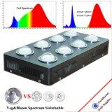 Hydroponic 2000W 가득 차있는 스펙트럼 LED는 실내를 위해 가볍게 증가한다