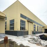 Struttura d'acciaio della costruzione dell'ampia luce di montaggio chiaro prefabbricato prefabbricato della costruzione