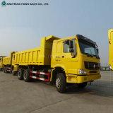 Sinotruk HOWO 16 metro cúbico 10 despejo de roda caminhão de caixa basculante