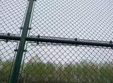 Гальванизированная ячеистая сеть загородки звена цепи