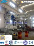 De Hydraulische Kraan van Elecric met de Pijpen van het Roestvrij staal
