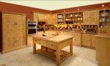 Mobilia di legno #1728 della cucina della quercia dell'armadio da cucina