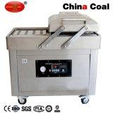 Dz500/2c vacío de doble cámara de la máquina de envasado de alimentos