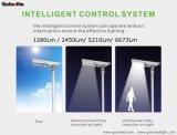 Luz de calle solar integrada del sensor de microonda de la iluminación 40W 6637lm de la lámpara al aire libre del jardín LED