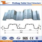 Material de acero de la cubierta de suelo de acero para el edificio de la estructura de acero