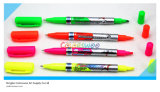 4PCS Hot Sell Dual Tipp Highlighter Marker Pen