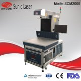 Динамическое CO2 станок для лазерной маркировки древесины из натуральной кожи