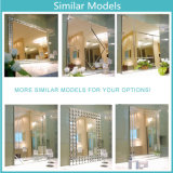Specchio rotondo di figura del fiore dello specchio decorativo dell'hotel di disegno moderno