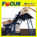 certificado CE Curta Beton Station, Yhzs35 Fábrica de criação de lote de concreto celular