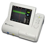 Los gemelos individuales de 8.4 pulgadas Monitor Fetal con Toco / transductor ultrasónico fetal Marcar para mujeres embarazadas frecuencia cardíaca fetal Seguimiento por Ce ISO Aprobado - Candice