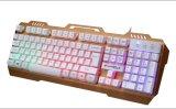 プロLEDのバックライト(KB-12)が付いているゲームによってワイヤーで縛られるキーボード