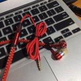 El Woofer Super Bass estéreo Cable TPE Deporte los auriculares intrauditivos
