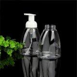 bottiglia di plastica di compressione dell'animale domestico 250ml per l'estetica che impacca con la pompa della gomma piuma (FB02)