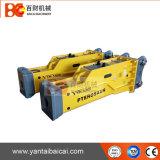 판매를 위한 20-26 톤 굴착기에 일치하는 소형 유압 끊는 망치 Soosan Sb81