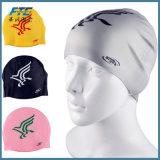 Gorro de natación de silicona impermeable swimcap personalizada