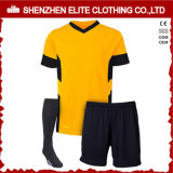De aangepaste Blauwe en Witte Eenvormige Uitrustingen van het Voetbal voor Clubs