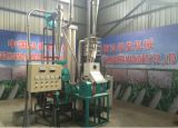 Kleines feines Mais-Mehl Mais-Hammermühle-Uganda-Tanzania