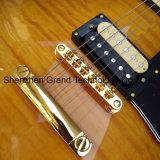 Custom Lp guitarra eléctrica na explosão de tabaco Maple Top (BPL-341)