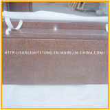 Pulido Tianshan Red losas de granito para Floor Tiles o encimeras