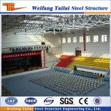 Centro de deportes prefabricado del gimnasio de la estructura de acero