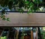 純木のプラスチック合成の装飾的な木ずり