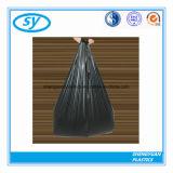 Sac de transporteur noir de doublure de poubelle de sac d'ordures
