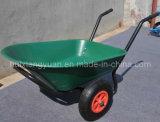 Wb9500p Construção Wheelbarrow Wheelbarrow/Pesados