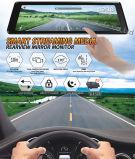 9.88 pulgadas Full Touch Monitor Retrovisor Ahd 1080P de doble sistema de cámaras de grabación coche Dash
