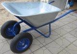 Wheelbarrow de alumínio do descarregador do edifício Wb6211