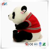 고품질 주문 Mother& 아기 견면 벨벳 판다 스웨터 착용 장난감