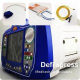 Meditech Hospital First-Aid Portable Biphasic Defibrillator with Monitor