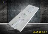 Réverbère solaire du contrôle intelligent DEL avec du ce RoHS reconnu