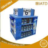 Всплывающие окна POS картон губная помада Рекламная подставка для дисплея, картон бумага дисплей для установки в стойку, гофрированный хранения поддона дисплей