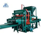 Qt4-20 Brava gravier poreux machine à briques de construction pour les briques de la machine