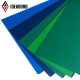 Ideabond Wand-dekorative blaue Farben-Aluminiuminnenpanel