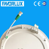Ультра тонкий встраиваемый светильник акцентного освещения 15W Круглые светодиодные лампы панели раунда